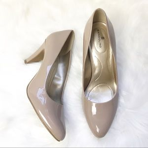 Like new Bandolino Nude heels 8.5 M